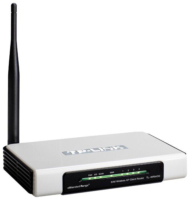 Wi-Fi роутер TP-LINK TL-WR543G