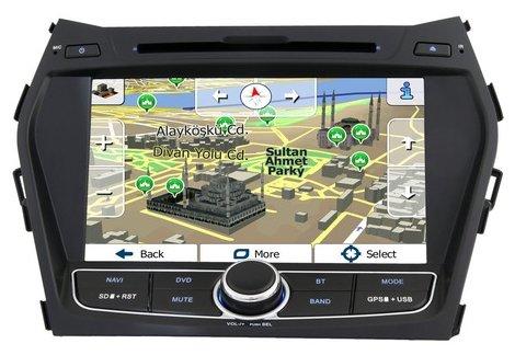 Автомагнитола nTray 8526 Hyundai Santafe 2012