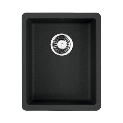 Врезная кухонная мойка 34 см OMOIKIRI Kata 34-U 4993382 черный