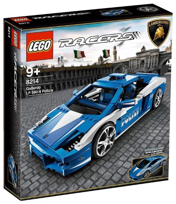 Конструктор LEGO Racers 8214 Автомобиль Gallardo LP 560-4 Polizia
