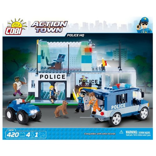 Конструктор Cobi Action Town 1574 Штаб-квартира полицииКонструкторы<br>