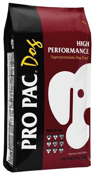 Корм для собак Pro Pac High Performance