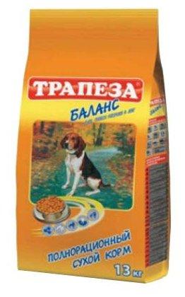 Корм для собак Трапеза Баланс для пожилых собак (13 кг)