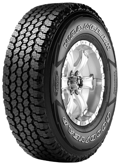 Автомобильная шина GOODYEAR Wrangler All-Terrain Adventure With Kevlar 255/70 R15 112T