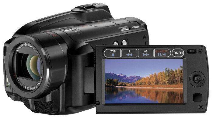 Сравнение с Canon HG21