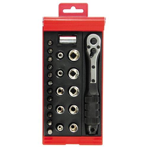 Набор бит и торцевых головок ZiPOWER (24 шт.) PM 4158Наборы инструментов и оснастки<br>