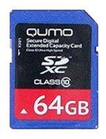 Карта памяти Qumo SDXC Class 10