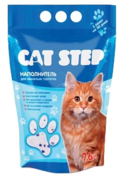Cat Step Силикагелевый (7.6 л)