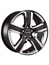 RADIUS RS012 8,0\R18 5*112 ET50 d75 Matt Black - фото 1