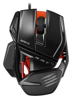 Мышь Mad Catz R.A.T. TE Gaming Mouse for PC and Mac Black USB