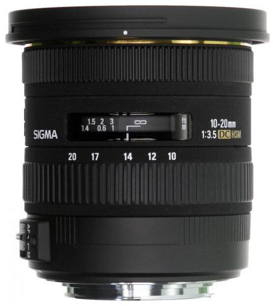 Sigma Объектив Sigma AF 10-20mm f/3.5 EX DC HSM Canon EF-S
