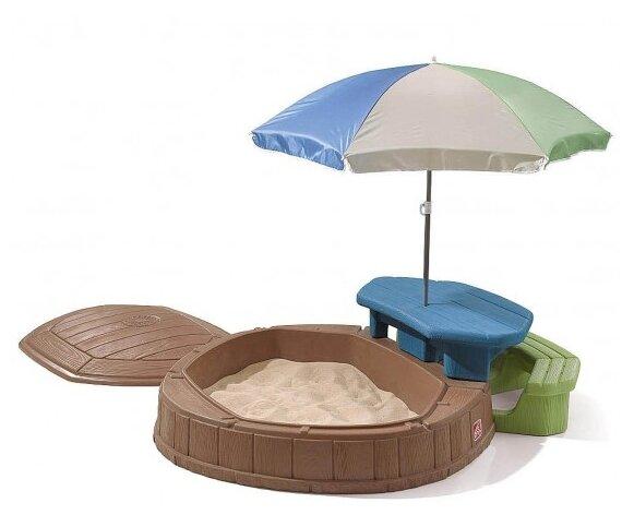 Песочница-бассейн Step2 со столиком (843700)