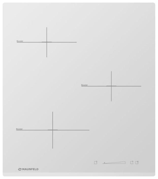 MAUNFELD Варочная панель MAUNFELD MVI45.3HZ.3BT WH