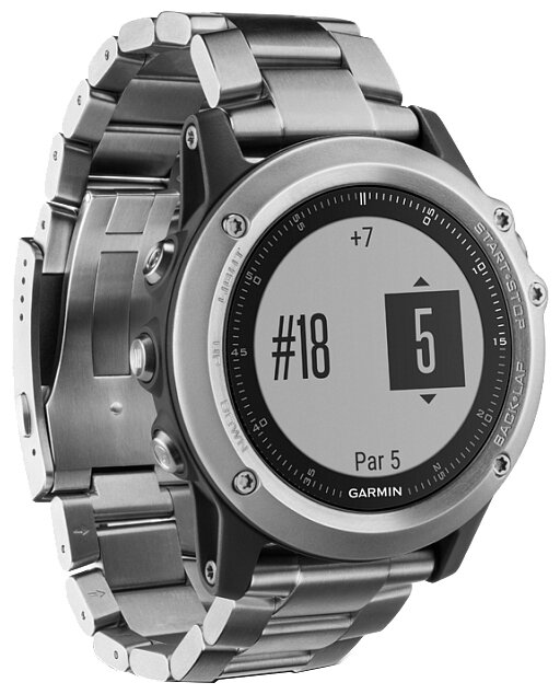 Garmin Часы Garmin Fenix 3 HR with Titanium Strap