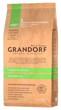 Grandorf Ягнёнок с рисом Мини (3 кг)