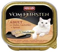 Корм для кошек Animonda (0.1 кг) 1 шт. Vom Feinsten Adult Меню для привередливых кошек с курицей, фи