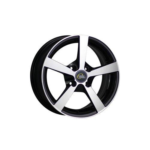 Фото - Колесный диск Cross Street Y201 6x14/4x98 D58.6 ET35 BKF колесный диск cross street cr 05 6x14 4x98 d58 6 et35 s