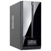 Корпус IN-WIN InWin BM639BL Black 160W 2*USB+AirDuct+Fan+Audio*Slim Case