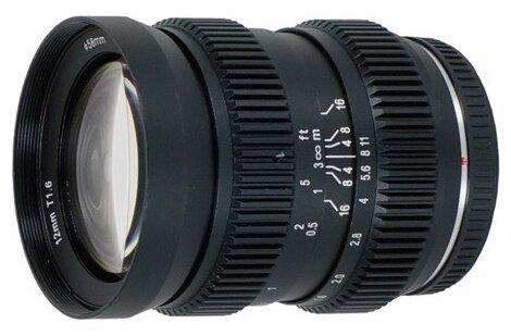 Объектив SLR Magic 12mm T1.6 Hyperprime Micro 4/3