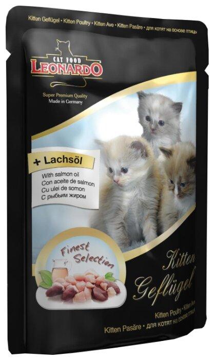 Leonardo С птицей для котят пауч (0.085 кг) 1 шт.