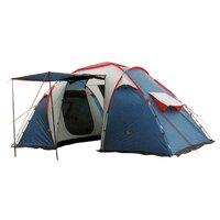 Палатка CANADIAN CAMPER Sana 4 (2+2) (480x230, h=210) (10,2 кг) цвет royal