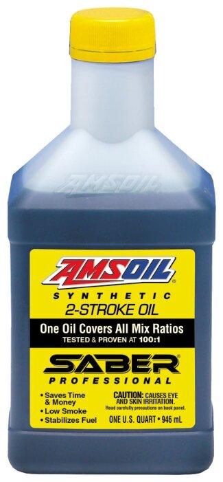 Масло для садовой техники AMSOIL Saber Professional Synthetic 2-Stroke Oil 0.946 л
