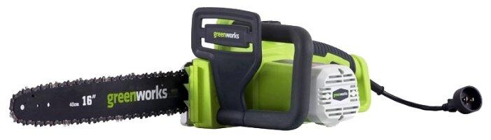 Сравнение с Цепная электрическая пила greenworks GCS1836