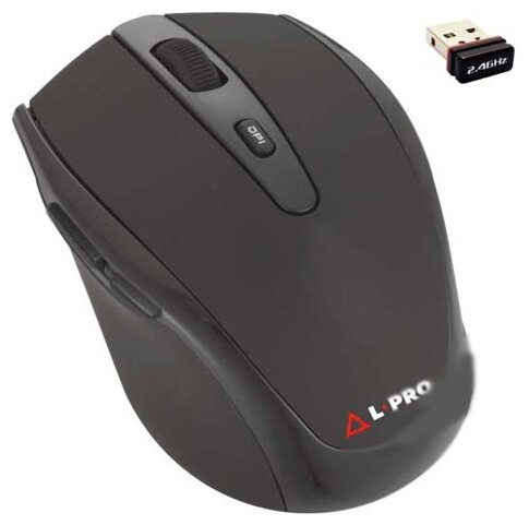 Мышь L-PRO 607/1255 Black USB