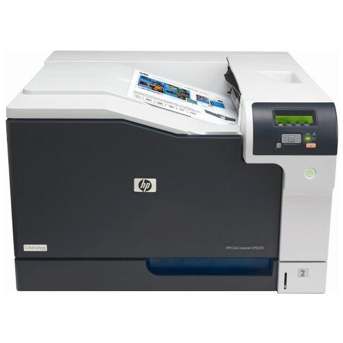 Принтер HP Color LaserJet Professional CP5225 (CE710A) бело-черный принтер hp color laserjet professional cp5225 ce710a цветной a3 20ppm