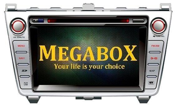 Автомагнитола Megabox Mazda 6 CE6631