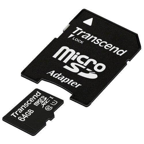 Фото - Карта памяти Transcend TS64GUSDU1 карта памяти transcend ts64gusdu1