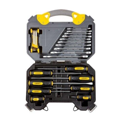 Набор инструментов STAYER (26 предм.) 27710-H26 желтый