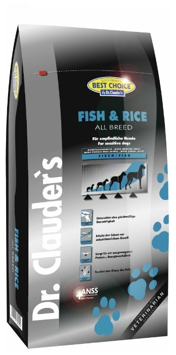 Корм для собак BEST CHOICE Fish & Rice All breed