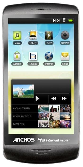Планшет Archos 43 internet tablet 8Gb