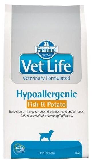 Корм для собак Farmina Vet Life Canine Hypoallergenic Fish & Potato