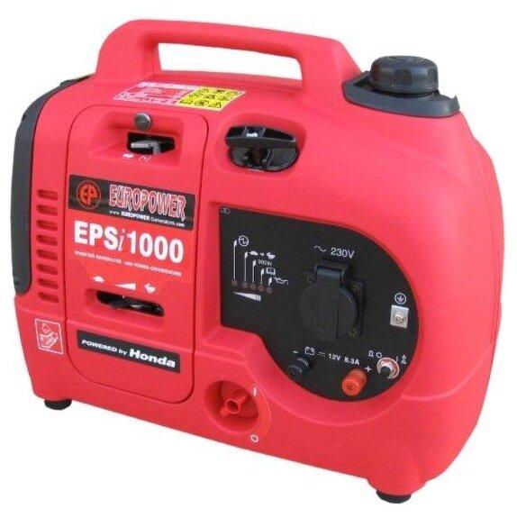 Бензиновый генератор EUROPOWER EPSi1000 (900 Вт)