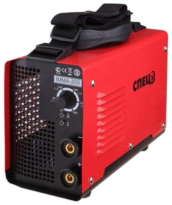 Купить Сварочный аппарат СПЕЦ IMMA-200 (MMA) по низкой цене с доставкой из Яндекс.Маркета (бывший Беру)