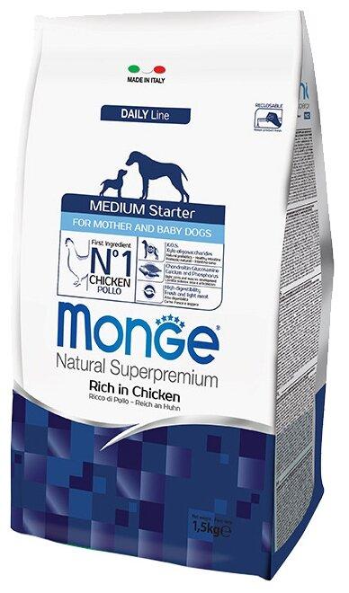 Корм для собак Monge Dog Medium Starter