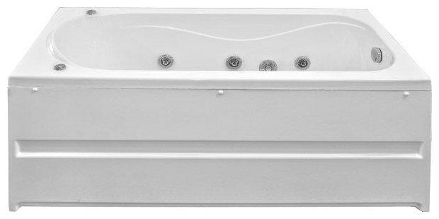 Отдельно стоящая ванна BAS Атланта 170х70 с гидромассажем