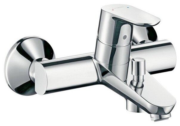 Смеситель для ванны с душем hansgrohe Focus E2 31940000 однорычажный хром