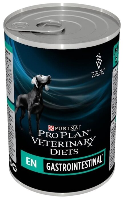 Корм для собак Pro Plan Veterinary Diets Gastrointestinal при болезнях ЖКТ 12шт. х 400г