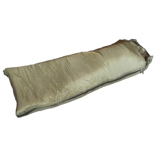 Спальный мешок Спортивные Мастерские Одеяло с капюшоном 0°С/+10°С бежевый