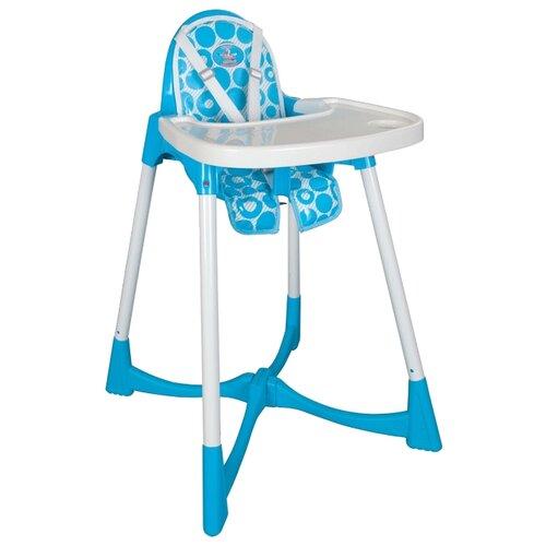 Купить Стульчик для кормления pilsan Elite Baby High голубой, Стульчики для кормления