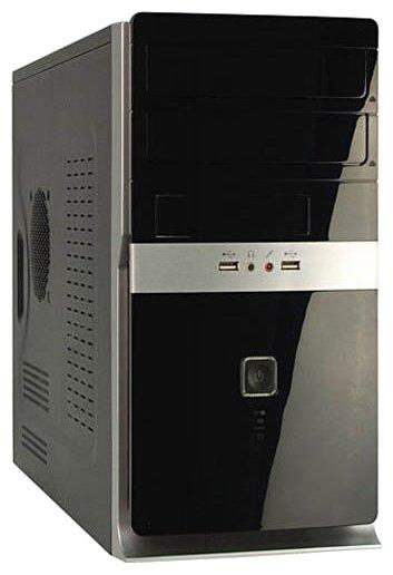 Компьютерный корпус Foxconn KS-141 400W Black/silver