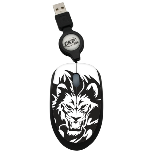 Мышь Cirkuit Planet CPL-MM1244 Black-White USB