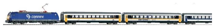 """PIKO Стартовый набор """"Пассажирский поезд CONNEX"""", серия Hobby, 57180, H0 (1:87)"""