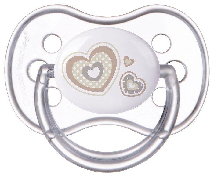 Пустышка силиконовая классическая Canpol Babies Newborn Baby 6-18 м (1 шт)
