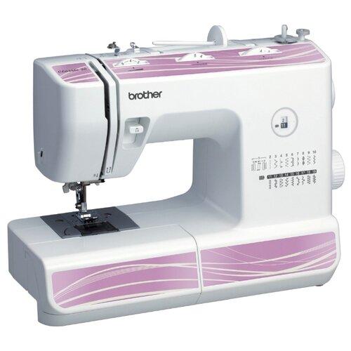 Фото - Швейная машина Brother Classic 20, бело-розовый швейная машина brother artcity 170s бело синий
