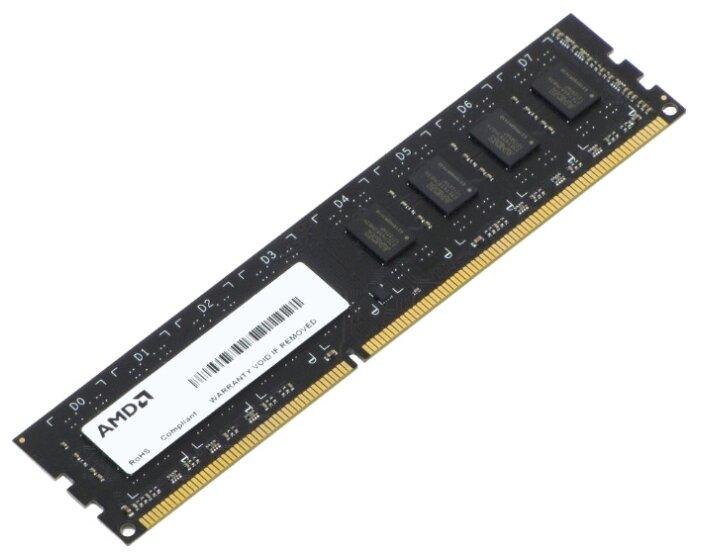 Оперативная память 4Gb DDR-III 1600Mhz AMD (AE34G1601U1-UO/R534G1601U1S-UO) OEM
