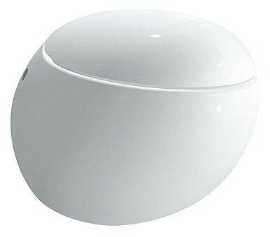 Чаша унитаза подвесная LAUFEN Alessi One 8.2097.6.000.000.1 с горизонтальным выпуском